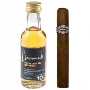 Intro to Pairing - Benromach 10 Year Old + Rafael Gonzalez Perlas Cigar