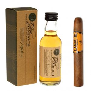Intro to Pairing - Camacho Connecticut Machitos Glen Garioch 12 Year Old Whisky