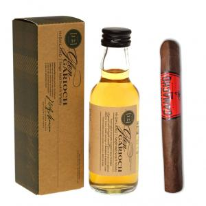 Intro to Pairing - Camacho Corojo Machitos Glen Garioch 12 Year Old Whisky