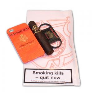 Macanudo Gordito Cigar and Cutter Set - iPhone 4S Orange Case