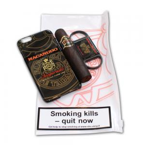Macanudo Gordito Cigar and Cutter Set - iPhone 6 Black Case