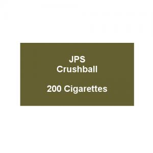 JPS Kingsize Crushball - 10 packs of 20 cigarettes (200)
