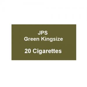 JPS Green Kingsize - 1 Pack of 20 Cigarettes
