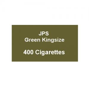 JPS Green Kingsize - 20 Packs of 20 Cigarettes