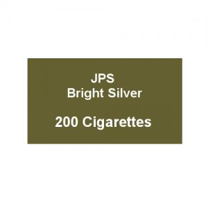 JPS Bright Silver Kingsize - 10 Packs of 20 Cigarettes