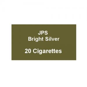 JPS Bright Silver Kingsize - 1 Pack of 20 Cigarettes