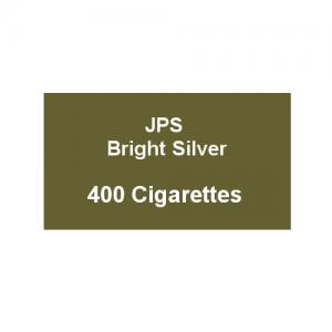 JPS Bright Silver Kingsize - 20 Packs of 20 Cigarettes