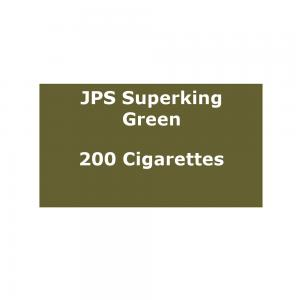 JPS Superkings Green - 10 packs of 20 cigarettes (200) - End of Line