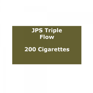 JPS Triple Flow - 10 packs of 20 cigarettes (200)