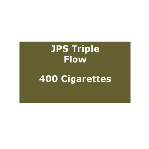 JPS Triple Flow - 20 packs of 20 cigarettes (400)