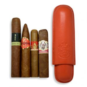 James's Limited Time Cigar Sampler – 4 Cigars + Macanudo Inspirado Case
