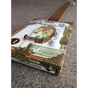 Handcrafted Juan Lopez Cigar Box Guitar