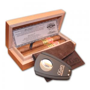 Turmeaus 200th Anniversary Twin Pack With X4 Cutter – Juan Lopez No. 2