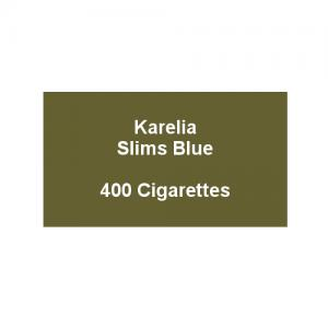 Karelia Slims Blue - 20 Packs of 20 cigarettes (400)