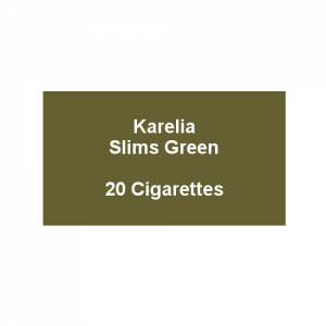 Karelia Slims Green - 1 Pack of 20 cigarettes (20)