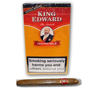 King Edward Invincible Deluxe Cigar - Pack of 5 - DISCONTINUED
