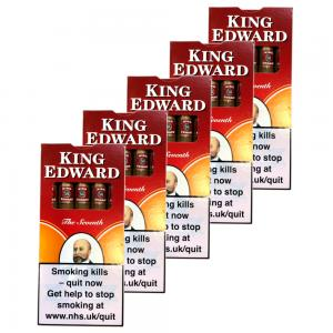 King Edward Specials Cigar - 5 Packs of 5 (25)