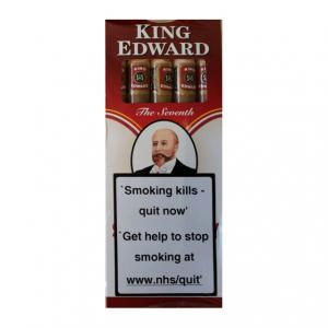 King Edward Wood Tipped Ruby Cigars - Pack of 5