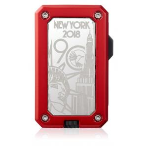 Colibri 90 Year Anniversary Rally Limited Edition Lighter - Red