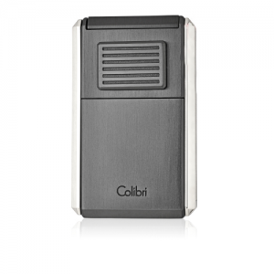 Colibri Astoria Triple Jet Flame Lighter - Brushed Gunmetal