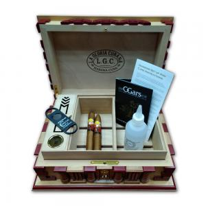 LCDH La Gloria Cubana 25th Anniversary Special Humidor Pack - with 2 Cigars
