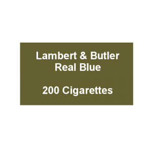 Lambert & Butler Real Blue - 10 Packs of 20 Cigarettes