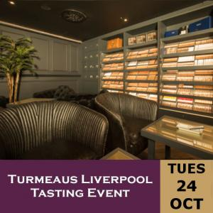 Turmeaus Liverpool Whisky & Cigar Tasting Event - 24/10/17