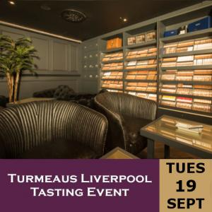 Turmeaus Liverpool Whisky & Cigar Tasting Event - 19/9/17