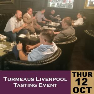 Turmeaus Liverpool Whisky & Cigar Tasting Event - 12/10/17