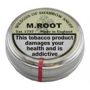 Wilsons of Sharrow - M.Root Snuff - Large Tin - 20g