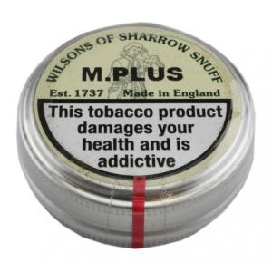 Wilsons of Sharrow - M.Plus Snuff - Large Tin - 20g