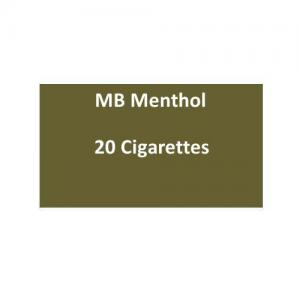 MB Menthol Cigarettes - 1 pack of 20 cigarettes (20)