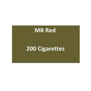 MB Red Cigarettes - 10 packs of 20 cigarettes (200)