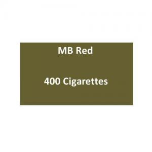 MB Red Cigarettes - 20 packs of 20 cigarettes (400)