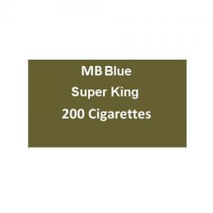 MB Blue Superking Cigarettes - 20 packs of 20 cigarettes (400)