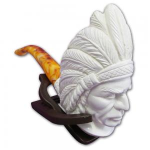 Indian Chief Extra Large Meerschaum Pipe