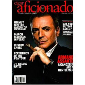 Cigar Aficionado Magazine - March/April 2008