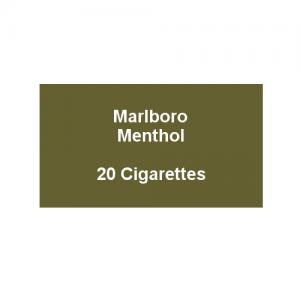 Marlboro Green Menthol - 1 Pack of 20 Cigarettes (20)