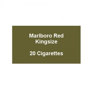Marlboro Red Kingsize - 1 pack of 20 Cigarettes (20)