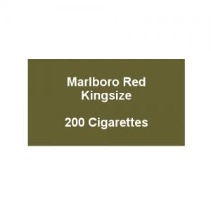 Marlboro Red Kingsize - 10 pack of 20 Cigarettes (200)