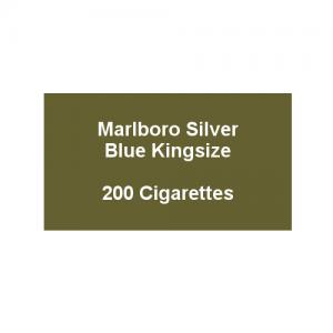 Marlboro Silver Blue Kingsize - 10 pack of 20 Cigarettes (200)