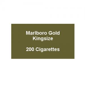 Marlboro Gold Kingsize - 10 pack of 20 Cigarettes (200)