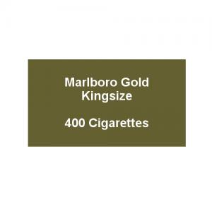 Marlboro Gold Kingsize - 20 pack of 20 Cigarettes (400)