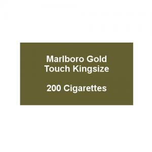 Marlboro Gold Touch Kingsize - 10 pack of 20 Cigarettes (200)