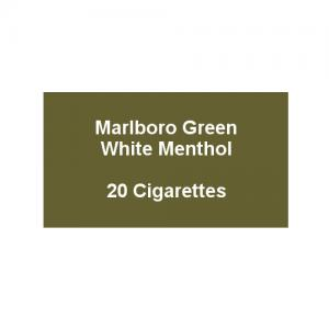 Marlboro Green - 1 pack of 20 Cigarettes (20)
