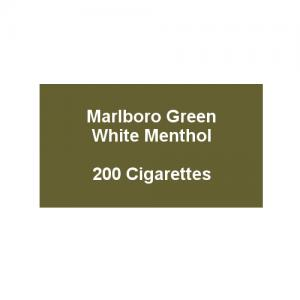 Marlboro Green - 10 pack of 20 Cigarettes (200)