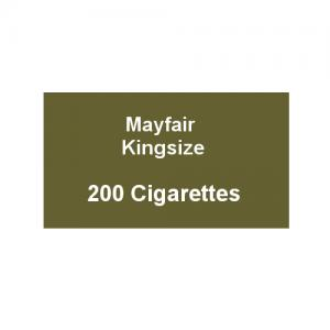 Mayfair Kingsize Cigarettes - 10 Packs of 20