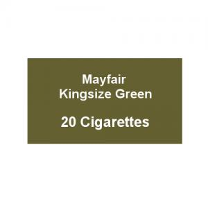 Mayfair Kingsize Green Cigarettes - 1 Pack of 20