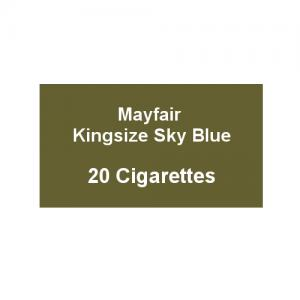 Mayfair Kingsize Sky Blue Cigarettes - 1 Pack of 20