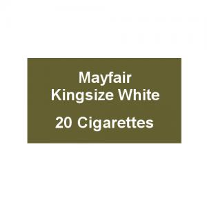 Mayfair Kingsize White Cigarettes - 1 Pack of 20